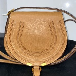 CHLOÉ Tan Mini Marcie Bag